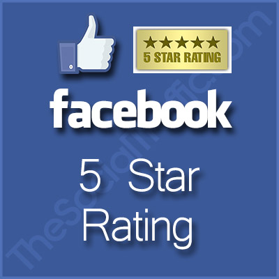 Buy Facebook 5 Five Star Rating