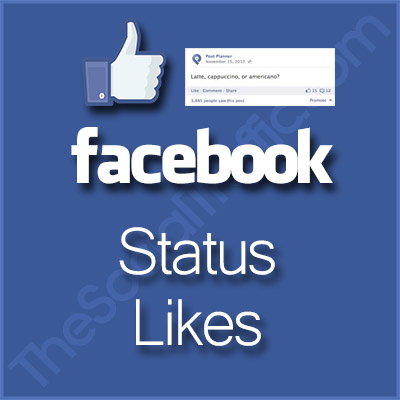 Facebook Status Likes